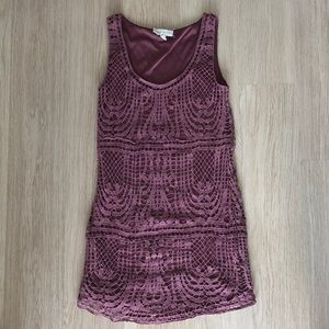 Urban Outfitters Lace/Crochet Dress